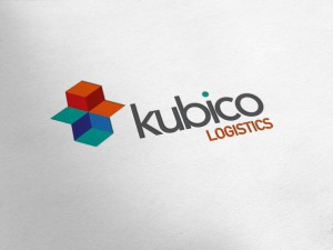 Kubico Logistics Logo Design