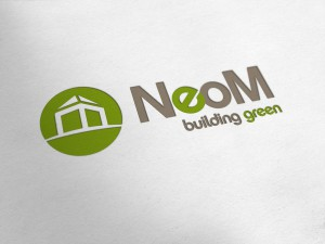 NeoM Building Green Logo