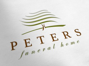 Logo Design for Peters Funeral Home