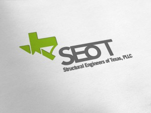 SEoT Structural Engineers of Texas Logo Design