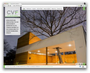 CVF Homes San Antonio Real Estate Website Design