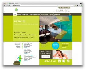 Dermatology Associates of San Antonio Website