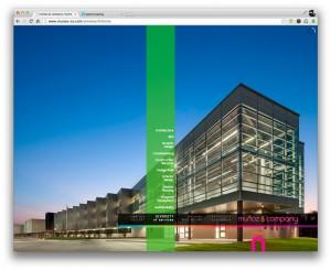 Munoz and Company Architects Web Design Development home